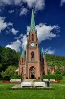 Bragernes church in Drammen