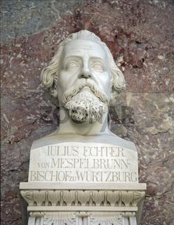 Büste des Julius Echter von Mespelbrunn