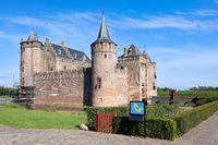 Muiderslot, historic and famous medieval Dutch Castle