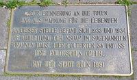 Mozartstr. 26, Memorial, Neustadt-Süd, Cologne, NRW, Rhineland
