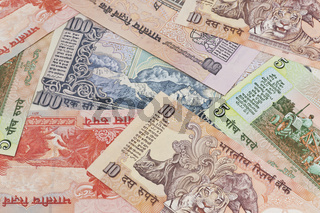 Indische Rupien Banknoten | Indian rupees bills