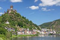 Cochem an der Mosel in Rheinland-Pfalz