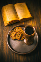 The sacrament of holy communion - bread