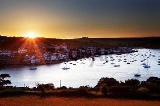 Salcombe Sunset Devon England