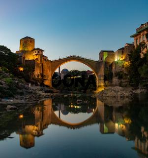 Mostar Sunset Old Bridge
