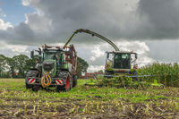 Corn harvest vehicles frontal phase 2