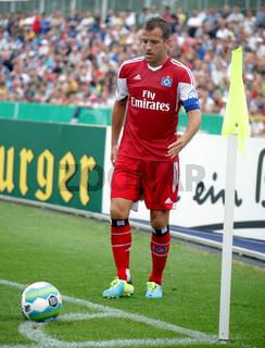niederländischer Fußballspieler Rafael Van der Vaart vom Hamburger SV DFB-Pokal Saison 2013-14