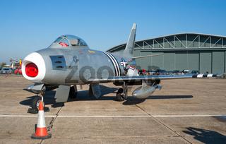 F-86 Sabre historic jet fighter