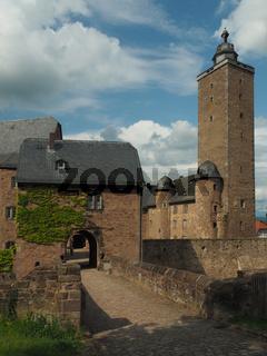 """Burg mit Burgfried in """"""""Steinau an der Straße"""""""