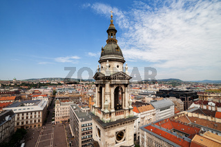 City of Budapest Cityscape in Hungary
