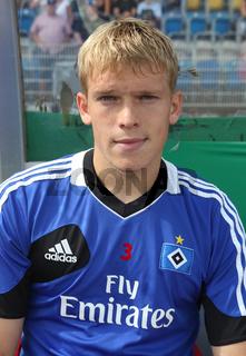 lettischer Fussballer Artjoms Rudnevs Hamburger SV 1.Fussball-Bundesliga Saison 2013-14