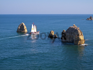 Segeln in der Algarve