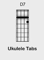 Ukulele chords D 7