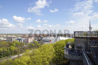 Aussichtsplattform auf dem Flakturm Humboldthain, Berlin