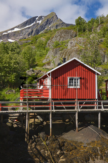 Norwegian Rorbu hut