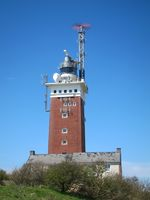 lighthouse on the Island of Helgoland