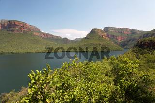 Beautiful peaceful mountain lake