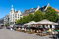 City Centre Outdoor Cafes in Copenhagen