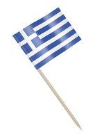 Greek flag toothpick