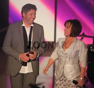 Ute Freudenberg und  Christian Lais in der MDR-Show Inka Bause live am 04.10.2013