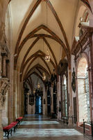 interior view of the Royal Gniezno Cathedral