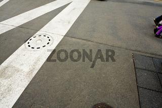 Bürgersteig, Streifen