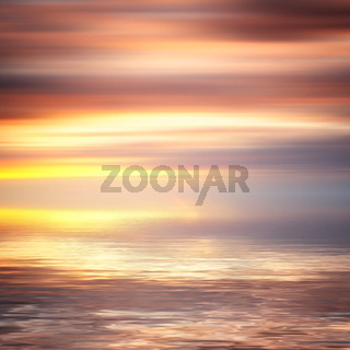 colorful water and sky abstract background