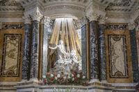 The Ecstasy of Saint Teresa by Bernini in the church Santa Maria della Vittoria in Rome