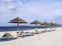 Beach near Porto Pinp Sardinia