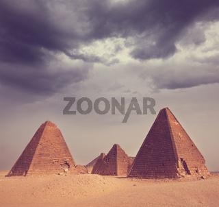 Pyramid in Sudan