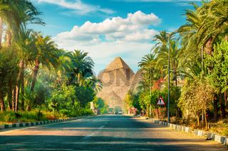 Road in Giza