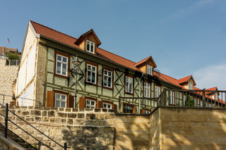 Quedlinburg Münzberg im Sommer