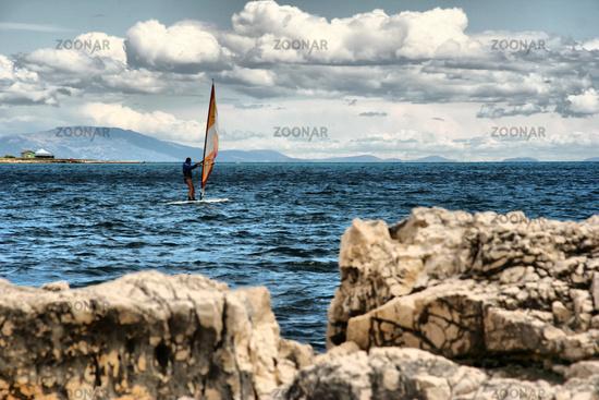 windsurfing in croatia