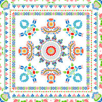 Hungarian embroidery pattern 86