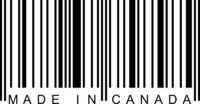 Barcode - Made in Canada