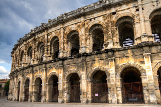 Roman arena at Nimes