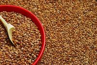 Buckwheat in the bowl