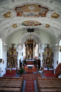 barocke Pfarrkirche in Frauenzell