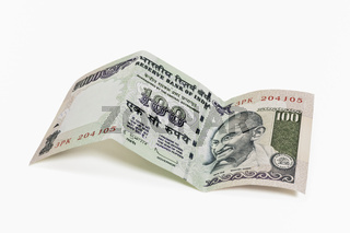 Indische 100 Rupien Banknote | Indian 100 rupees bill