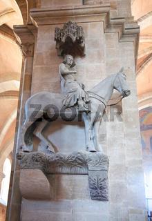 Der Bamberger Reiter oder steinerne Reiter am Nord
