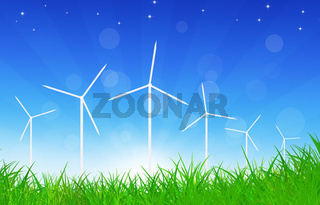 Green Power Wind Turbines