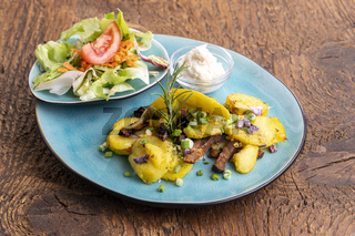 österreichisches Kartoffelgröstl