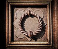 Medieval door knocker