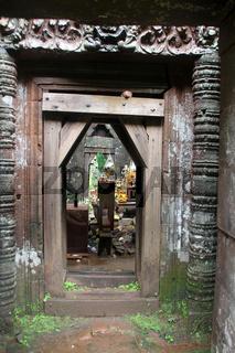 Door of temple