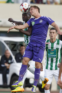 Ferencvaros vs. Ujpest OTP Bank League football match