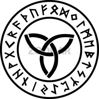 Triquetra - Runen Kreis