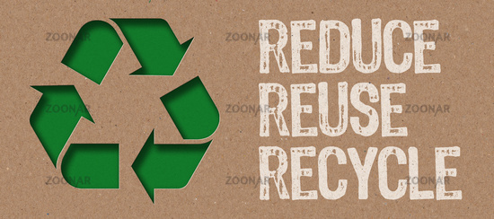 Paper cut - Reduce, Reuse and Recycle