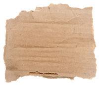 Piece of cardboard