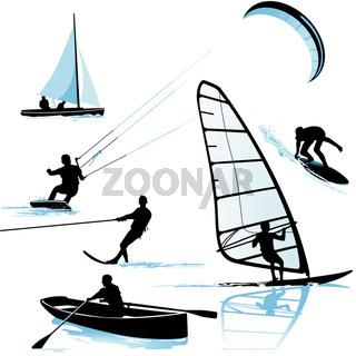 Wassersportarten.eps