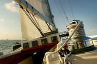 Sailing in tropical climate